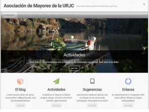 Asociación de Mayores Universidad Rey Juan Carlos Web
